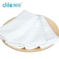1pieces Baby Cotton Nappy Breathable Diaper Nappy Liners Inserts 3 Layers Reused Washable Born Super Absorbency