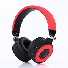 Bluetooth cloth wireless headset with FM stereo card 4.2 Universal music headset BT018  noise canceling  bluetooth headphone frezen stereo foldable wireless headphone bluetooth headset fm radio card with microphone noise canceling for iphone pc pad lg
