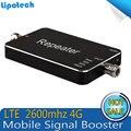 2016 nova Atualização 4G LTE 2600 MHz Mini preto Telefone Celular Repetidor de Sinal, reforço de Sinal GSM, 65dB amplificador de Sinal De Telefone Celular