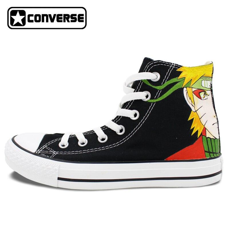 38c119195263 Uzumaki Diseño Converse Naruto All Personalizado Zapatos Star Anime Mujeres  Hombres Ax6ywSUqpK