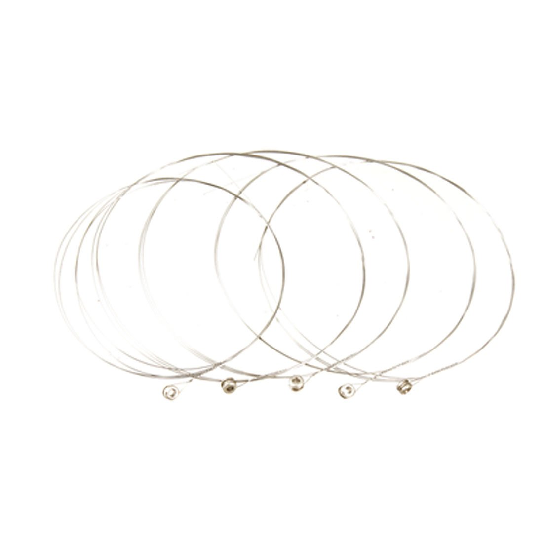 Wholesale 5X SYDS 5 Pcs Silver Tone Steel Strings E-1 for Acoustic Guitar
