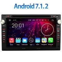 2G RAM 2din Android 7 1 2 Bluetooth Car Dvd Gps Navigation Video Stereo Multimedia Radio