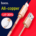 Hoco X2 1M/2M Nylon Knitted 8 pin/mirco USB Charging Cable for iPhone 5 5s 6 6s 7 Plus iPad mini Samsung Huawei Android phone
