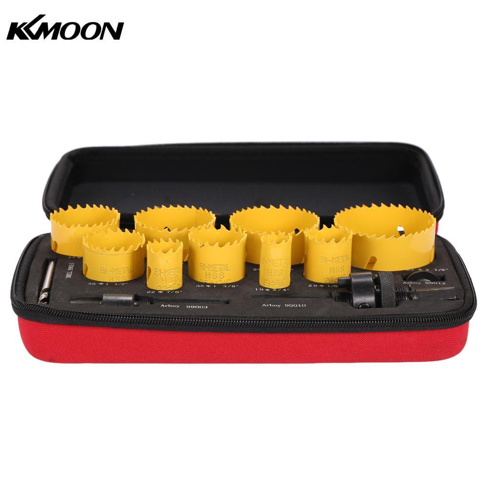 13 pcs herramientas ferramentas furadeira broca Buraco Saw Kit Ferramenta de Perfuração Caramanchão Broca Piloto Definido para Encanador Eletricista Carpinteiro