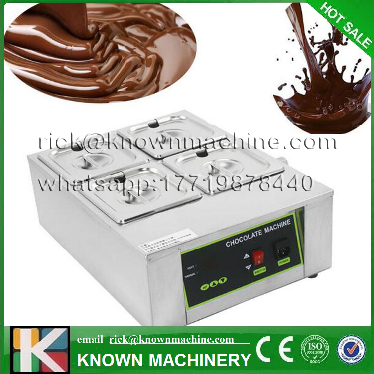 Free shipping by door to door hot sale Chocolate Melting Machine with 4 Top Quality tank for commercial use Free shipping by door to door hot sale Chocolate Melting Machine with 4 Top Quality tank for commercial use