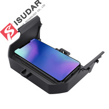 ISUDAR 10W Qi Car Wireless Charger Auto Fast Charging For BMW 5 Series/6 Series/GT for iphone 8X Samsung Huawei