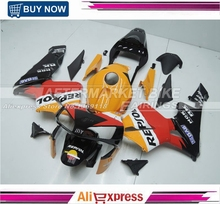 FOR HONDA CBR600RR 2003 NEW REPSOL Sport Bike Fairing Kit 2004 With Free Windscreen