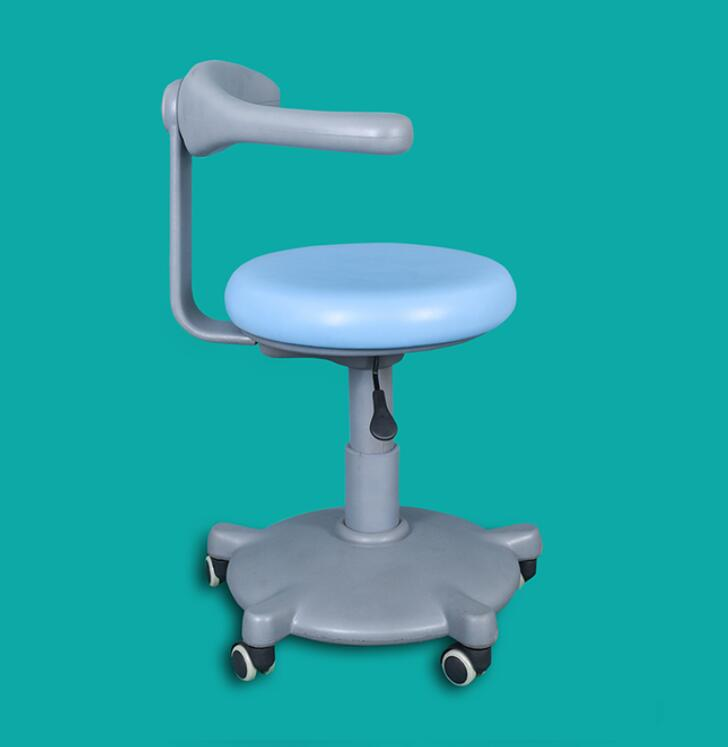 Adjustable Height Portable Dental Chairs for Dentist Medical Stool Mobile Assistant Chair Unit Dentist Chair Procedure Arm