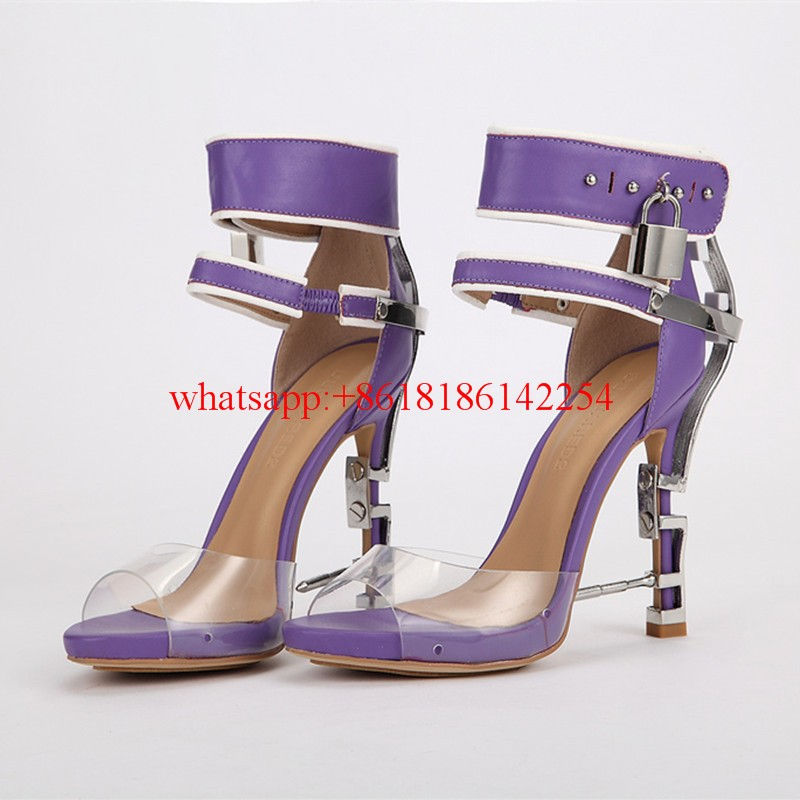 8d47d422b European Luxury Brand High Heels Sandals Women Sexy Party Shoes ...