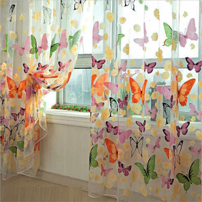 Romantic Curtains Venetian Curtains Customize Curtains For Living Window Screening Living Room Home Decoration