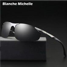 2018 Алюминий алюминиево магниевого сплава, солнцезащитные очки Для Мужчин Поляризованные UV400 вождения Ночное видение очки спортивные солнцезащитные очки oculos de sol masculino с коробкой