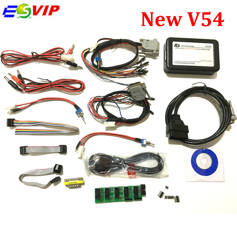 Discount price FGTech V54 Galletto 4 Full Chip Support BDM Full Function Fg Tech V54 Auto