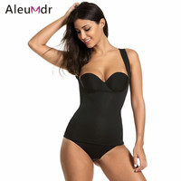 Aleumdr Women Body Shapers Waist Trainer Vest Top No Zipper Neoprene Tummy Belt Slim Waist Strap