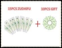 15pcs zudaifu body cream without retail box men women skin care product relieve Psoriasis Dermatitis Eczema Pruritus effect+GIFT