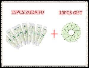 Image 1 - 15pcs zudaifu גוף קרם ללא קמעונאות תיבת גברים נשים עור טיפול מוצר להקל על פסוריאזיס דרמטיטיס אקזמה גרד אפקט + מתנה