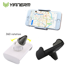 Yianerm Universal Car Phone Holder Air Vent Car Mount Phone Support Car Air Outlet Stand For iPhone5s/6s,Samsung S6/S7,GPS