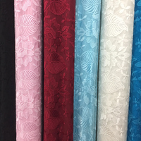 Flower Lace Summer Solid Thin Silk Embroidered Georgette Chiffon Fabric Cloth for Gress Skirt Clothing