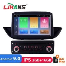 LJHANG 1 Din 8 «Android 9,0 автомобильный DVD для peugeot 308 2010-2015 мультимедийный плеер gps навигация авто радио wifi ips видео USB FM