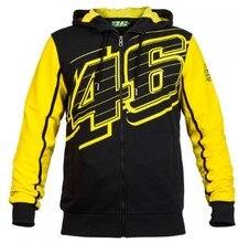 De MotoGp de 2017 novo camisola do esporte da forma dos homens revestimento da motocicleta para MOTO GP Rossi VR46 46 edição limitada da assinatura amarelo casaco