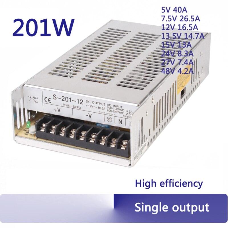 DC24v 250W switching power supply 24v 10a ac-dc adjustable AC110V 220V universal transformer S-250 cps 6011 60v 11a digital adjustable dc power supply laboratory power supply cps6011