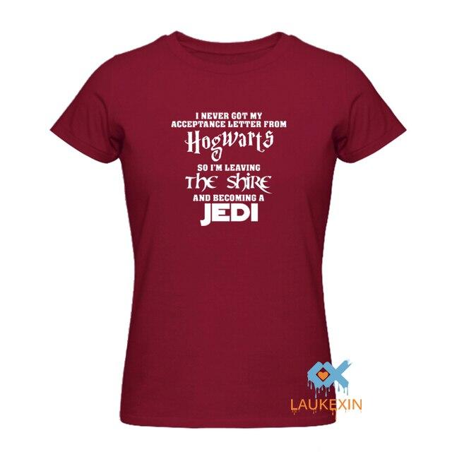 Star Wars Funny Hogwarts T-Shirt I Never Got My Acceptance Letter T-Shirt Harry Potter