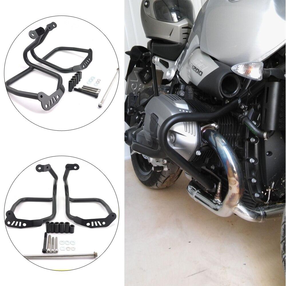 KEMiMOTO For BMW R NINE T 2014 2015 2016 Motorcycle Refit Tank Protection Bar Protection Guard Crash Bars Frame немецкий мотоцикл bmw r 12 6142