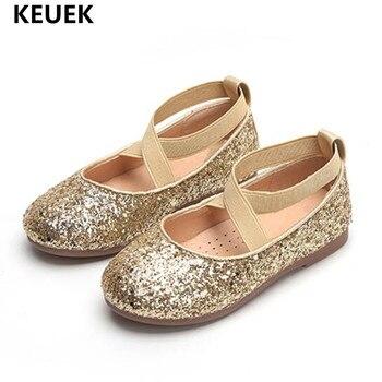 8863851f8c Nuevos zapatos para Niñas para fiesta y vestido de boda zapatos de moda  para niños lentejuelas