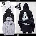 2017 nova moda mens treino marca clothing hoodie dos homens hip hop streetwear palácio palácio skates camisolas e hoodies