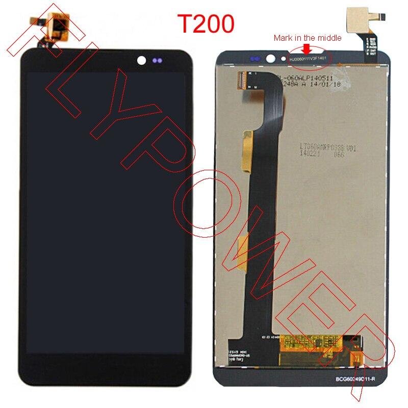 POUR THL T200 LCD Écran Avec Panneau à Écran Tactile Digitizer Assemblée par livraison gratuite; 100% garantie