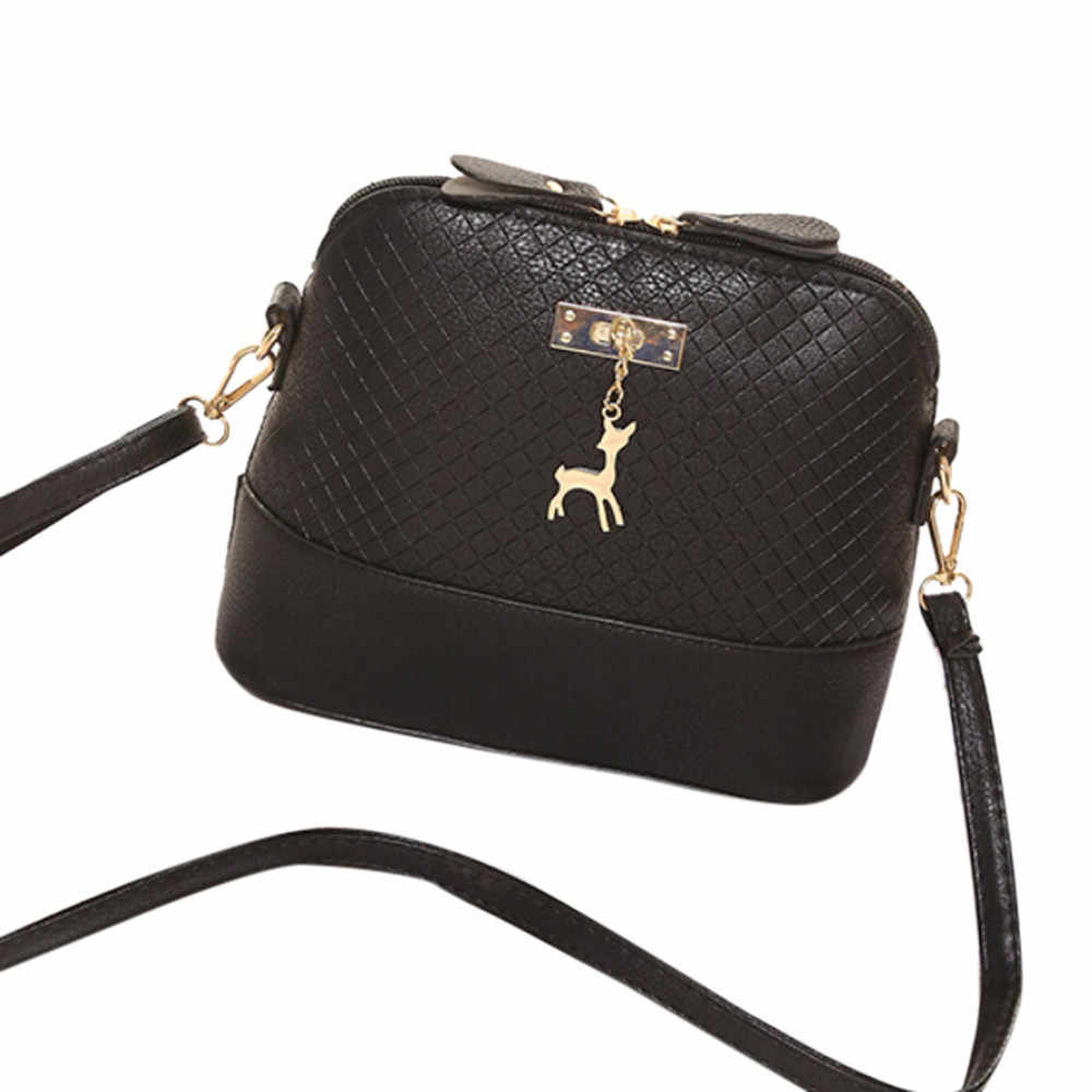 Moda Mini Bag Com Veados Brinquedo Shell Forma de Bolsa Sacos de 2019 Mulheres Mensageiro Mulheres Sacos de Ombro handbag3.85