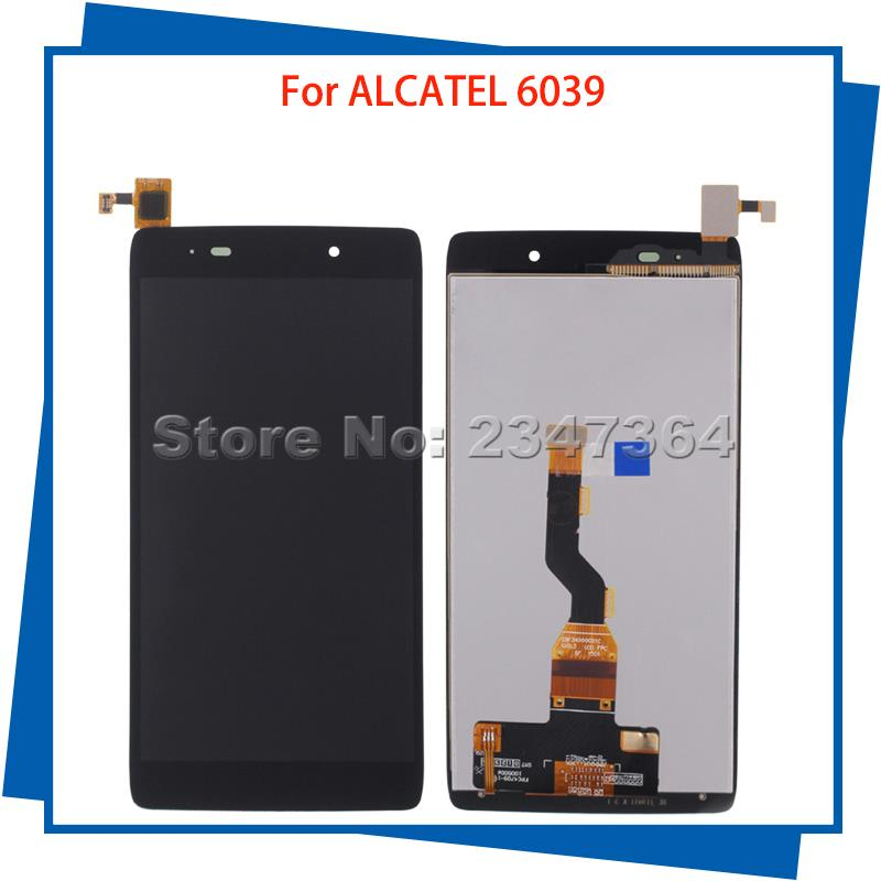 For Alcatel 6039 6039A 6039K 6039Y LCD Display Touch Screen 100%Guarantee Mobile Phone LCDs
