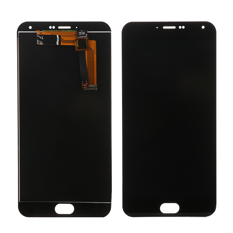 Mobile Phone Lcds Black 5.5 Meizu M2 Note Lcd Display Touch Digitizer Screen Assembly With Frame Meizu M2 Note Lcd Screen Replacement Sale Price