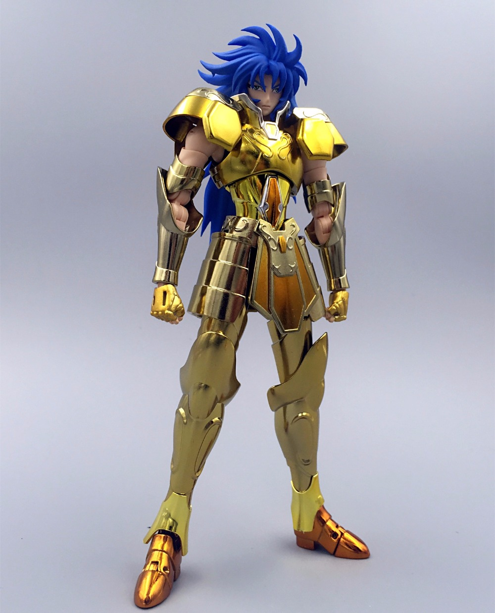 ST S Temple MC Metal Club Saint Seiya Cloth Myth EX Gold Gemini Saga model metal