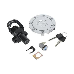 Ignition Switch Lock Fuel Gas Cap Key Set For Honda CBR250 MC19 MC22 CBR400 NC23 NC29 VFR400 Motorcycle Accessories(China)
