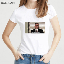 I am dead inside t shirt femme funny shirts women the office Michael Scott tv show tshirt female ulzzang tumblr grunge