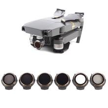 Фильтр для объектива DJI Mavic Pro Professional/Platinum, фильтр для объектива нейтральной плотности UV + CPL + ND4 + ND8 + ND16 + ND32, аксессуары для дрона