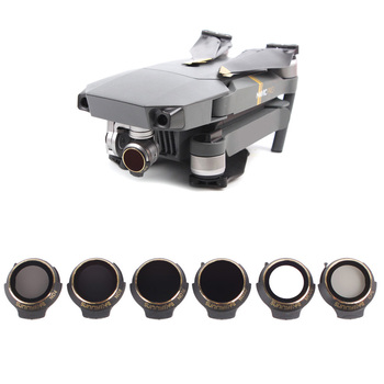 For DJI Mavic Pro Professional/Platinum Neutral Density Lens Filter UV+CPL+ND4+ND8+ND16+ND32 Filter Drone Sunhood Accessories
