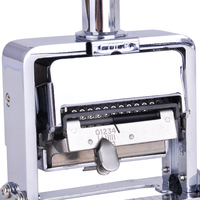 12 Position Automatic Numbering Machine Into The Number Coding Page Chapter Marking Machine Digital Stamp Burea