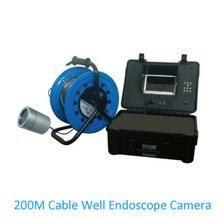 Цена по прейскуранту завода, трубная система, подводный эндоскоп, камера 100 м до 200 м, кабель, рыболовная камера, промышленный осмотр, инфракрасный светодиодный