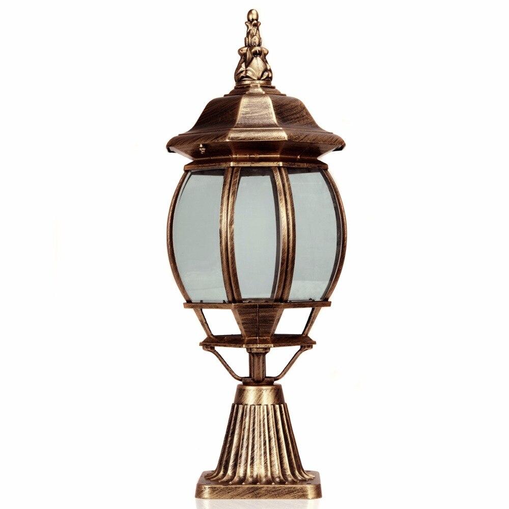 Top Grade Retro Outdoor Pillar Lamp/fence Post Cap Pillar Lamps Perfect  Light For Indoor And Outdoor, Yard, Doorway On Aliexpress.com | Alibaba  Group