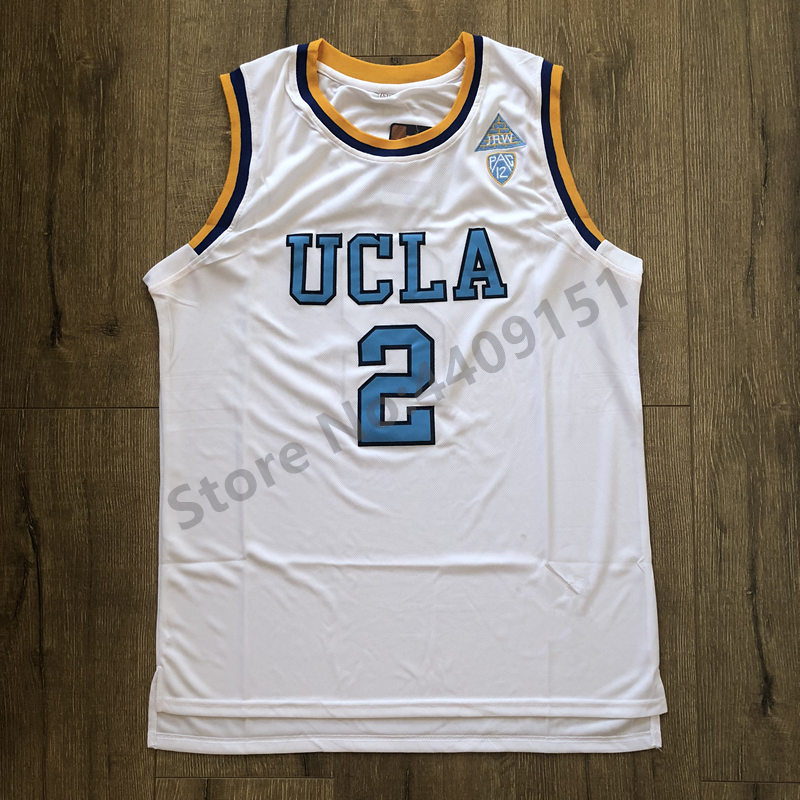 3c1143e1f44 New Lonzo Ball #2 UCLA Bruins College Basketball Jersey Stitched S 2XL-in Basketball  Jerseys from Sports & Entertainment on Aliexpress.com | Alibaba Group