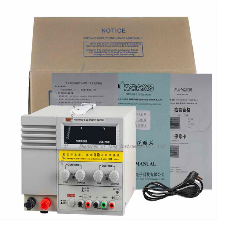RPS6005C-2 DC power supply 4 digital display high-precision dc voltage supply 60V 5A linear power supply maintenance cps 6011 60v 11a digital adjustable dc power supply laboratory power supply cps6011