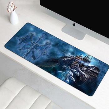 70X30 см игровой коврик для мыши для World of Warcraft коврик для мыши большой XL модный коврик для мыши для геймерского ноутбука резиновые коврик для м...