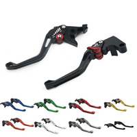 5D Long /Short Adjusted Brake Clutch Levers For Suzuki GSXR GSX R 600 750 1000 1300 K1 K2 K3 K4 K5 K6 K7 K8 K9 Racer