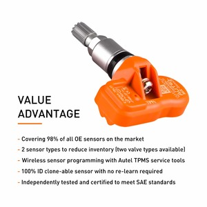 Image 3 - Autel Tire Pressure Monitoring Sensor MX Sensor 433MHZ Universal Programmable TPMS 433MHz For Ford for BMW for Land Rover more