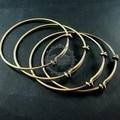 65 мм диаметр старинные латунные бронзовые простое подключение браслет для бисероплетение 1900020