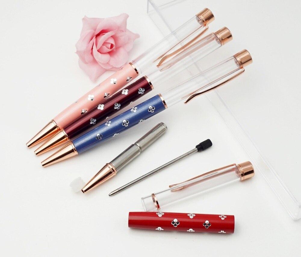 Bolígrafo con estampado floral de 125 piezas-in Bolígrafos de bola from Suministros de oficina y escuela    1