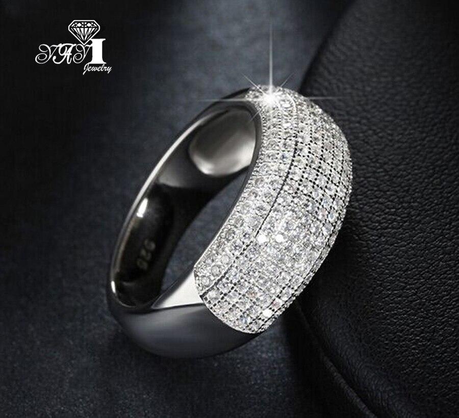2019 Neuestes Design Yayi Schmuck Mode Prinzessin Cut 3.5ct Gelb Zirkon Silber Farbe Engagement Ringe Hochzeit Ringe Party Ringe Gesundheit Effektiv StäRken