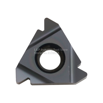 New Original Vargus Vardex 3IR 8UN VTX Thread Carbide Inserts 3IR 8 UN VTX Cutting Blade Tool Black image