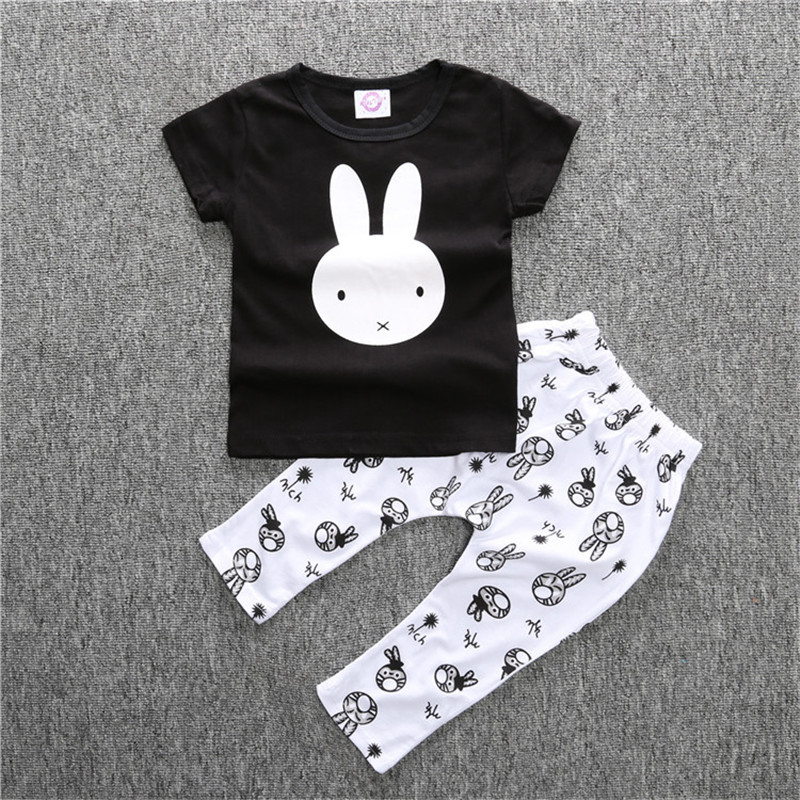 Summer Baby Romper Fashion Baby Boy Clothing Sets Short Sleeve Newborn Baby Clothes Roupas Bebe Infant Jumpsuits T-shirt Pants puseky 2017 infant romper baby boys girls jumpsuit newborn bebe clothing hooded toddler baby clothes cute panda romper costumes